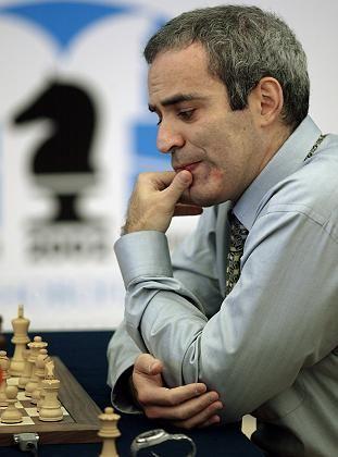 """Ex-Schachweltmeister Kasparow: """"Machen Sie Witze?"""""""