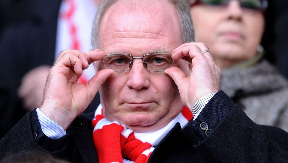 Bayern-Präsident Hoeneß: Gespräche zwischen Politikern, FC Bayern und Banken