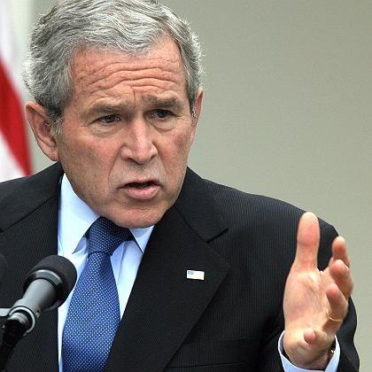 """US-Präsident Bush: """"Schwere Zeiten im Irak"""""""