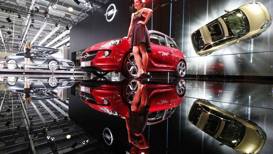 "Opel-Präsentation auf dem Moskauer Autosalon 2014: ""Entschiedene Maßnahmen"""