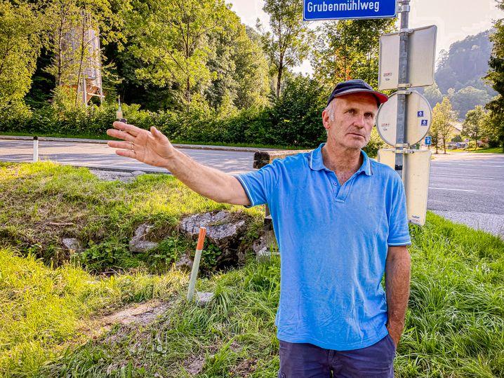 Anwohner Robert Hallinger sieht die Ausbaupläne ebenfalls kritisch: »Beton ist in Österreich unser Erdöl, wir kommen davon nicht weg«