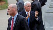 Mehrere Mitarbeiter von US-Vizepräsident Pence positiv getestet