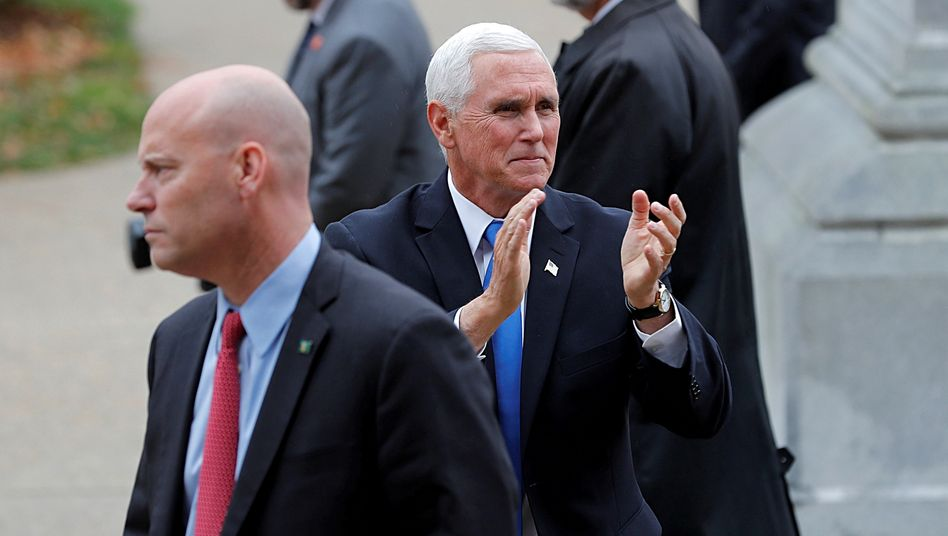 Marc Short und Mike Pence