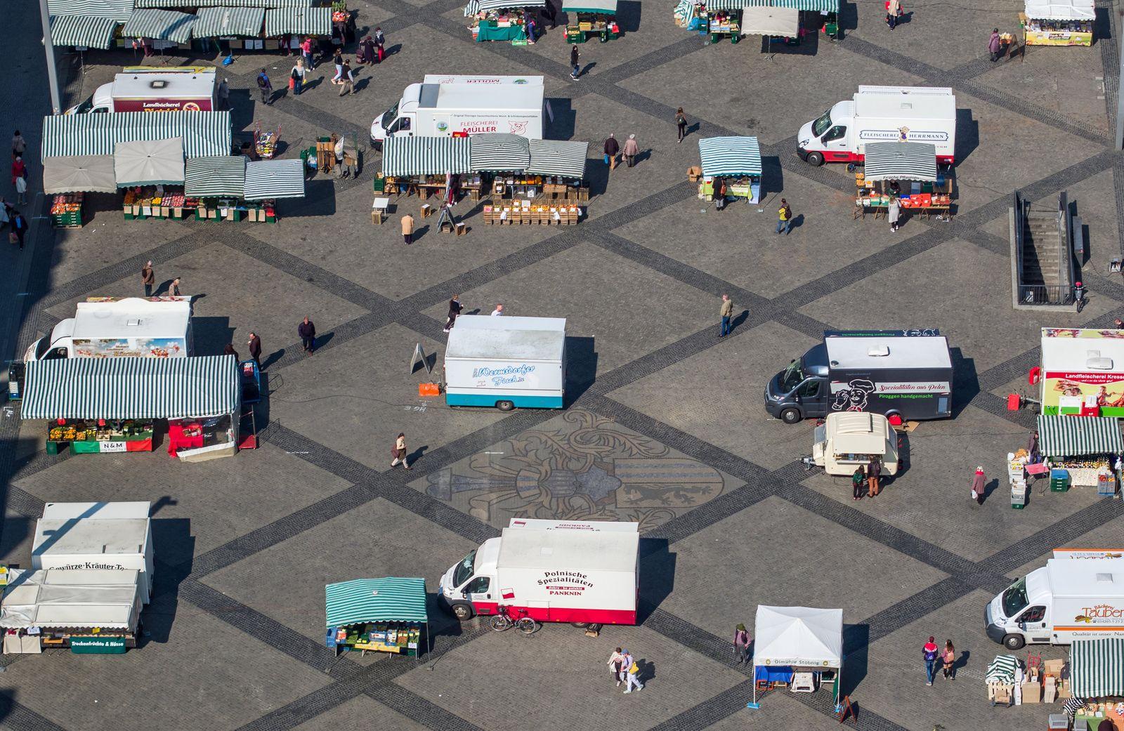 Coronavirus · Wochenmarkt