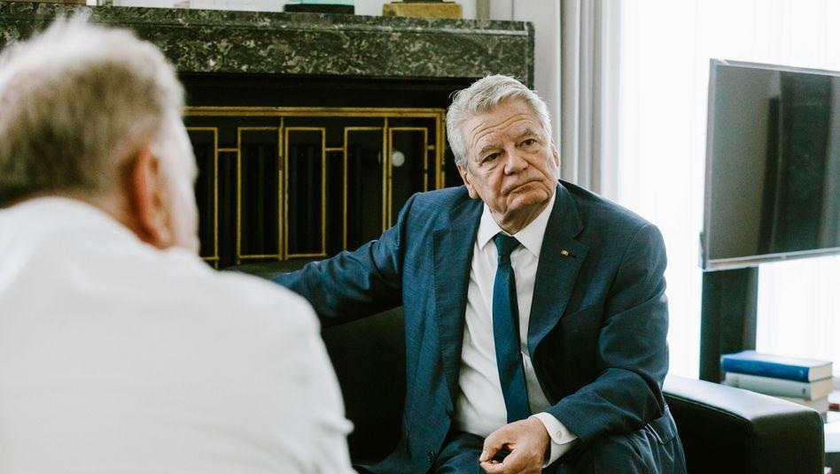 SPIEGEL-Gespräch mit Joachim Gauck
