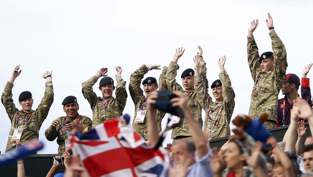 London 2012: Briten entwickeln sich zu Olympia-Fans