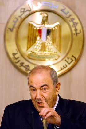 Ex-Premier Alawi (2004): Vor Machtvakuum gewarnt