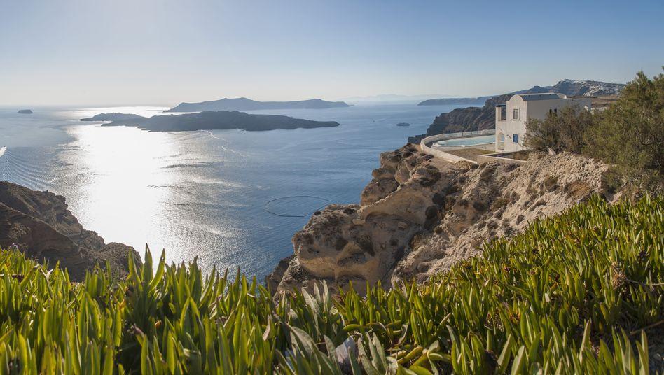 Griechische Insel Santorin: Von 13 auf 23 Prozent Mehrwertsteuer