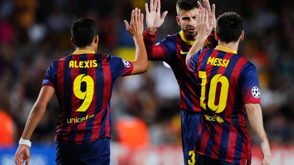 Barcelona-Spieler Alexis, Piqué, Messi: Kein Problem mit Amsterdam