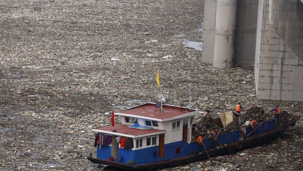 Umweltverschmutzung: Der Müllteppich am Jangtse