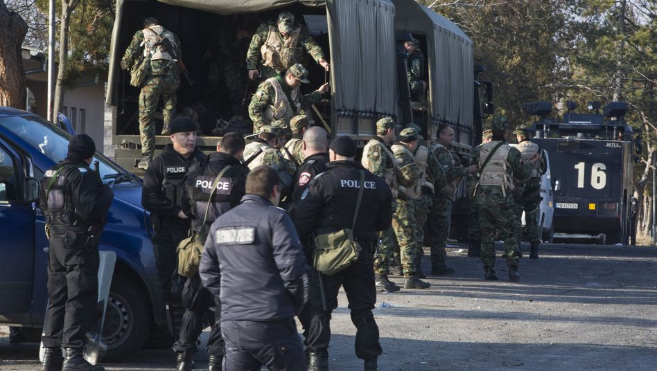 Polizei und Armee in Bulgarien