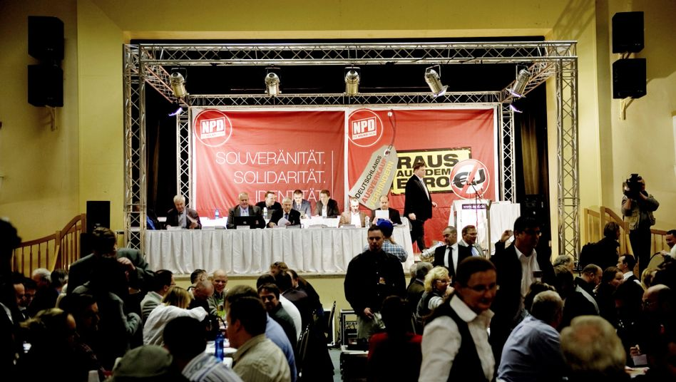 The NPD held its annual congress in the eastern town of Neuruppin last month.