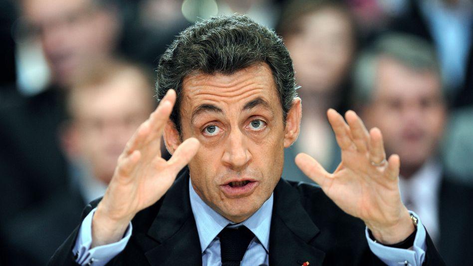 """Frankreichs Präsident Nicolas Sarkozy: """"Religion mit demütiger Unauffälligkeit ausüben"""""""