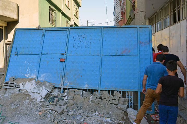 Straßensperren und Barrikaden in Cizre: Nachts toben die Kämpfe