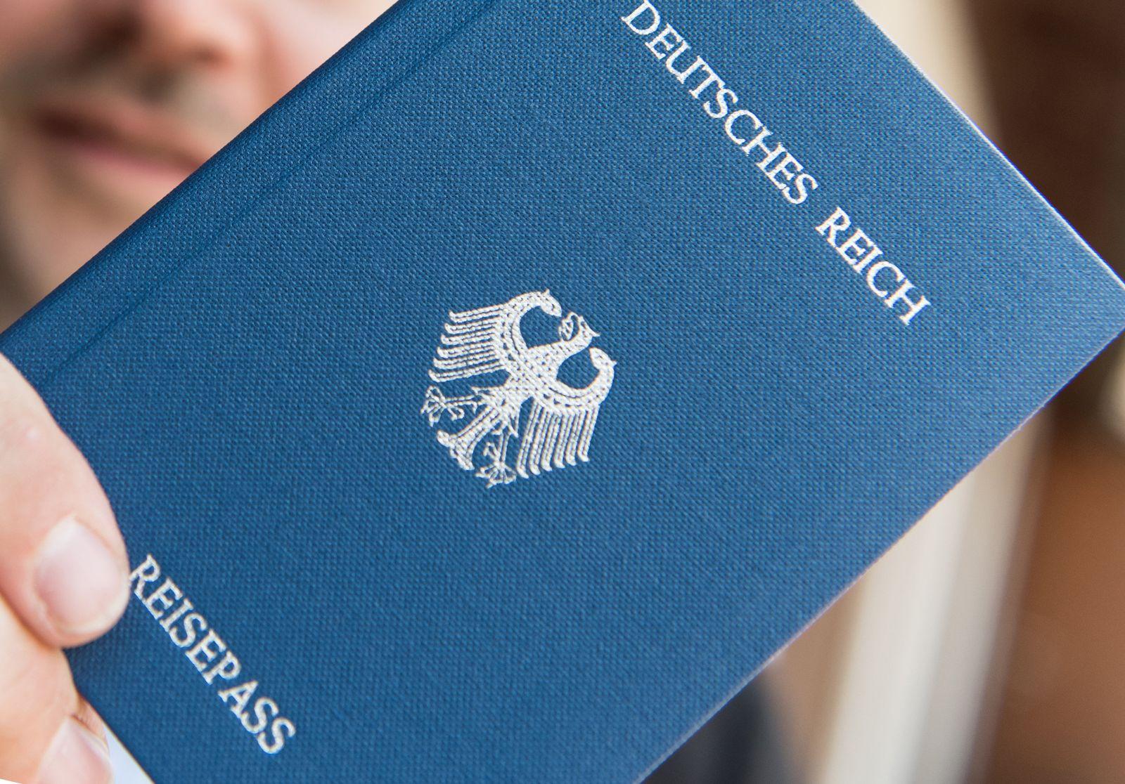 Reichsbürger/ Deutsches Reich/ Reisepass