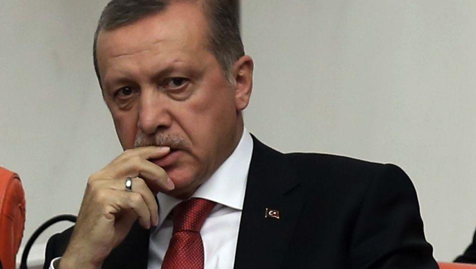 """Erdogan im Parlament in Ankara: """"Schwierige Zeit voller Schmerz"""""""