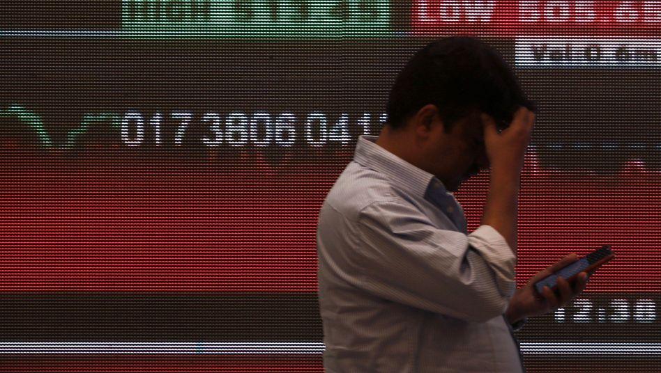 Börse in Mumbai: Ölpreis zwischenzeitlich auf höchstem Stand seit Mai 2019