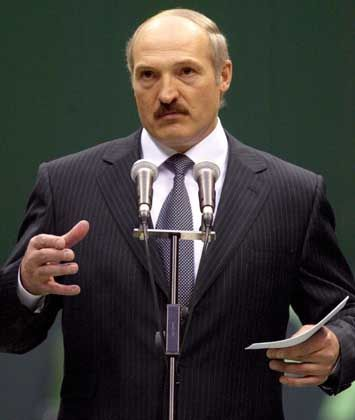 Belarussian President Alexander Lukashenko wants to revive the economy of the area near Chernobyl by settling refugees here.