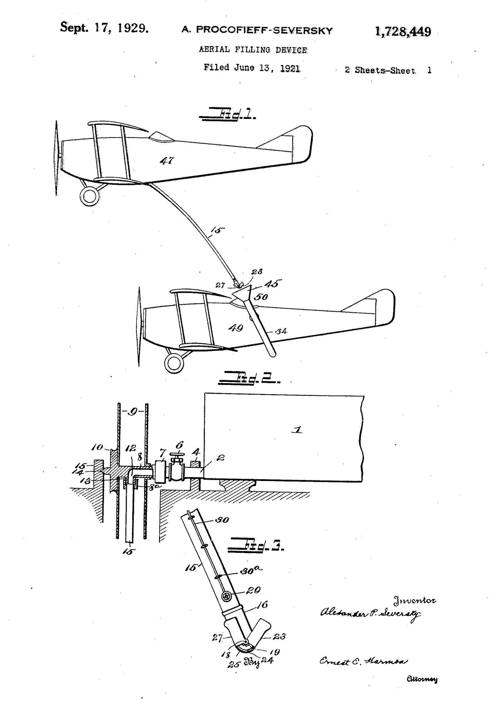 Patent Luftbetankung