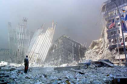Trümmerwüste Ground Zero
