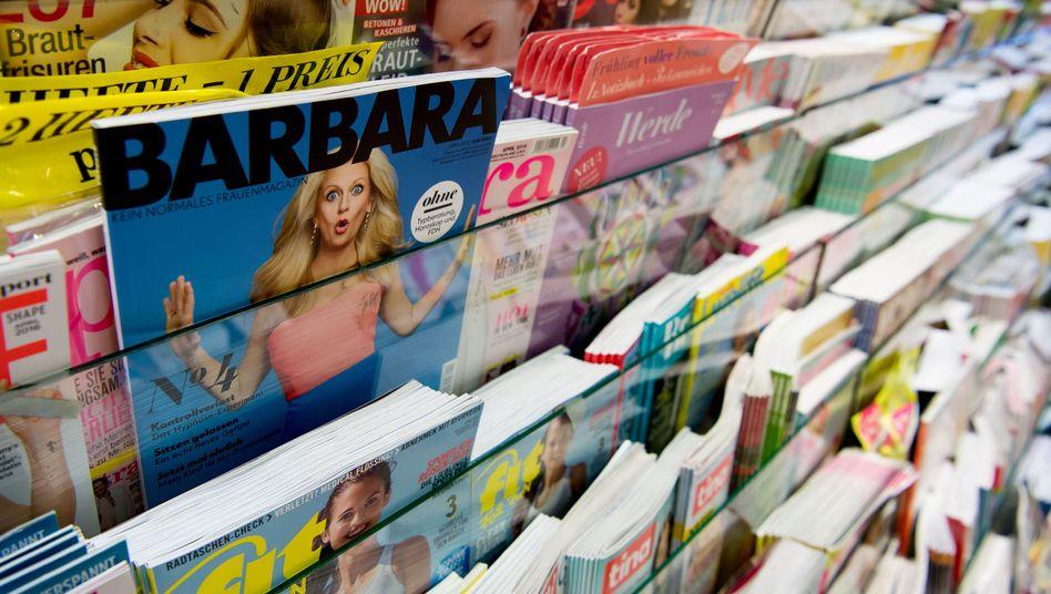 """""""Barbara"""" wurde fast immer von einem Mann fotografiert (Archivfoto)."""