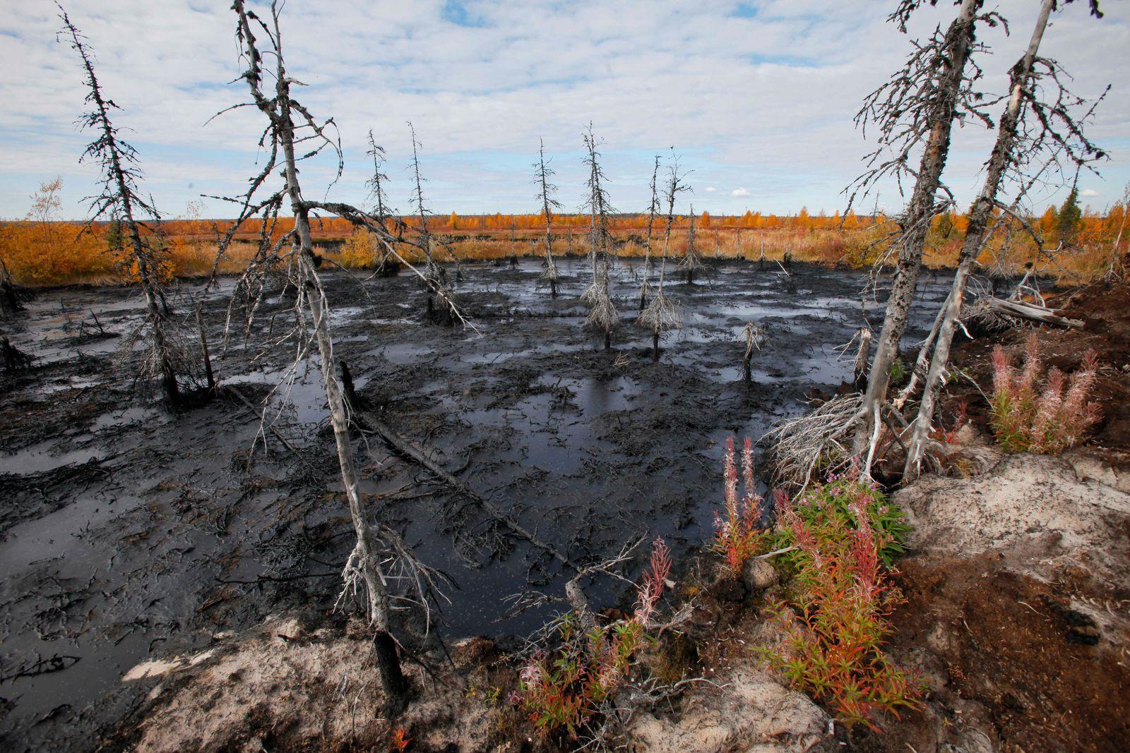 Russia Oil Spill