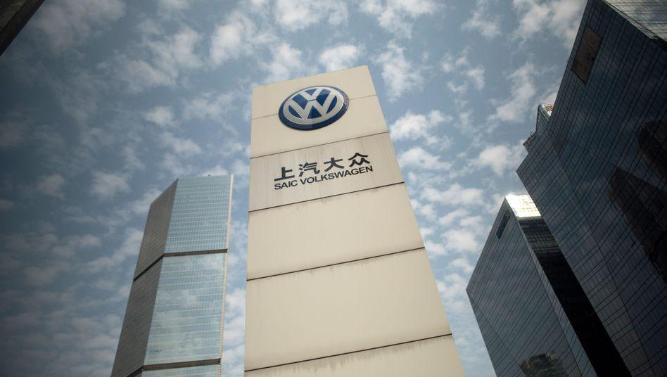 Volkswagen-Logo in Beijing