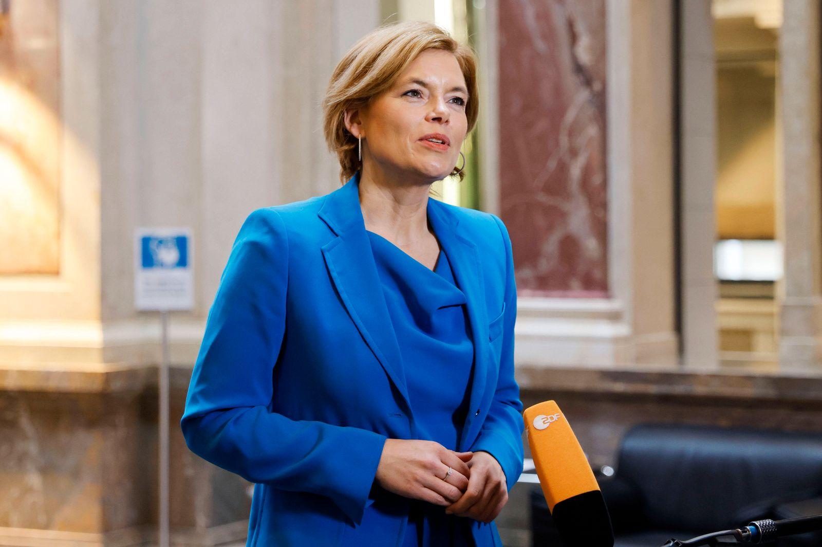 Julia Klöckner in der 1005. Sitzung des Deutschen Bundesrates im Bundesratsgebäude. Berlin, 28.05.2021 *** Julia Klöckne