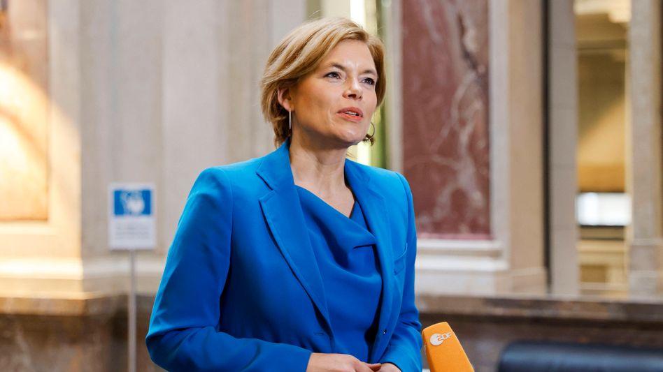 »So sehen Kompromissvorschläge aus«: Bundeslandwirtschaftsministerin Julia Klöckner