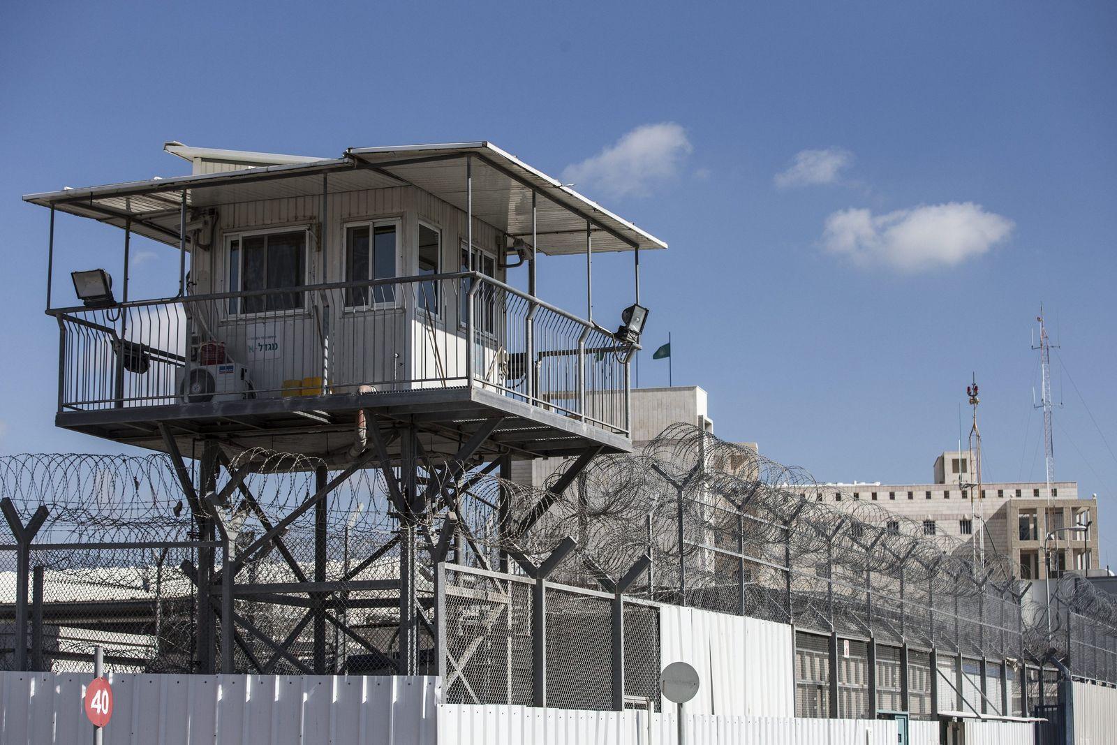 Ajalon-Gefängnis in Ramle/ Israel