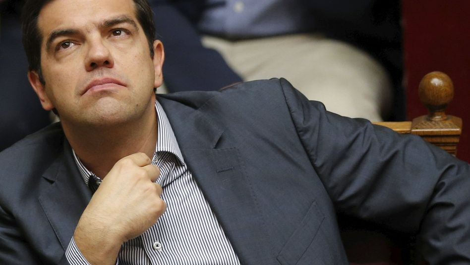 """Greek Prime Minister Alexis Tsipras: """"I assume responsibility for all mistakes I may have made."""""""