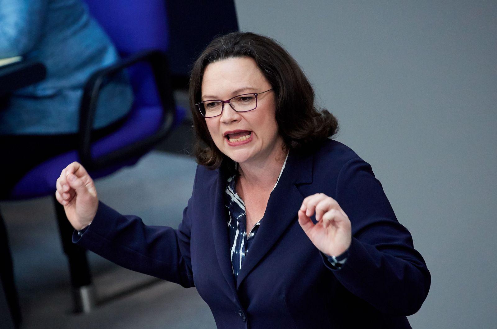 Andrea Nahles/ SPD
