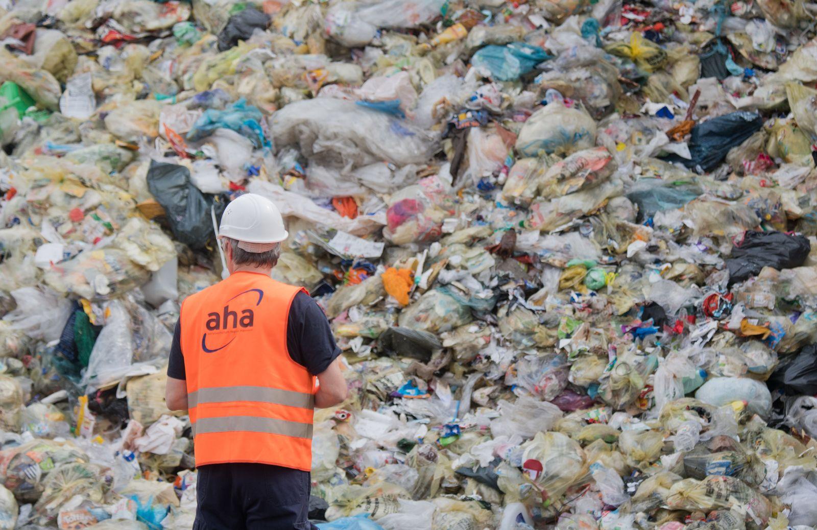 Plastik Deponie Hannover