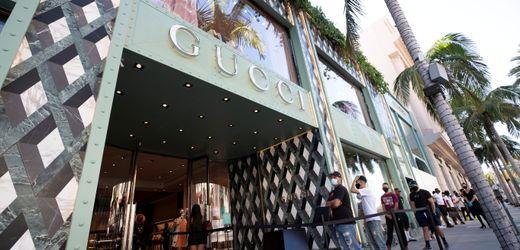Gucci-Konzern macht vor allem in Asien und den USA Kasse