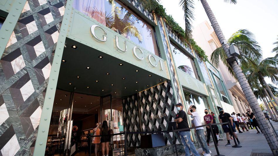 Gucci-Filiale in Beverly Hills: Erwartungen der Analysten übertroffen