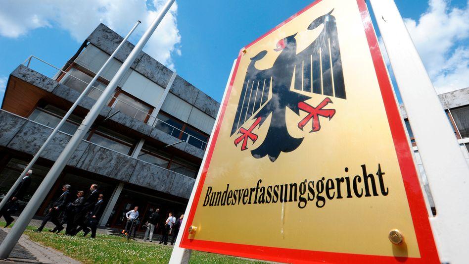 Das Bundesverfassungsgericht in Karlsruhe: Eilantrag wegen Videoübertragung