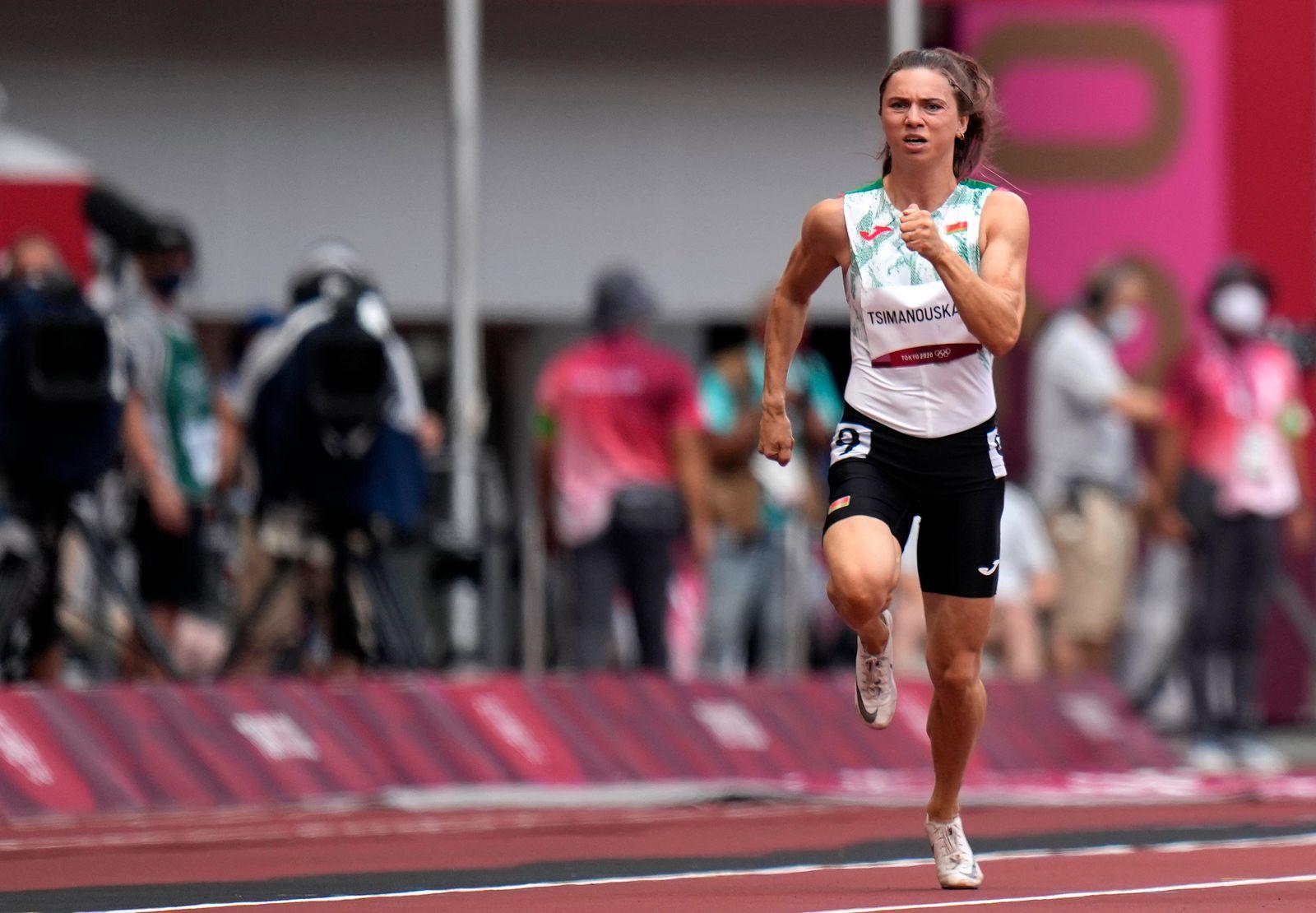 Tokio 2020 - Abzug von belarussicher Athletin Tsimanouskaya
