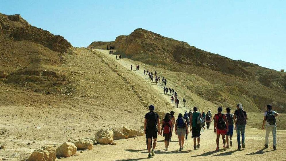 "Wandern in Israels Wüste: ""Es ist still, sehr still"""