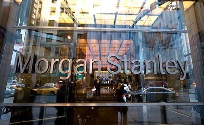 Morgan-Stanley-Zentrale in New York: Verlust von fast 1,3 Milliarden Dollar