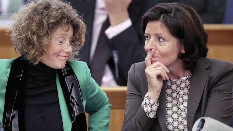 Koalitionäre Lemke, Dreyer: Nachhilfe in politisch korrekter Wahl