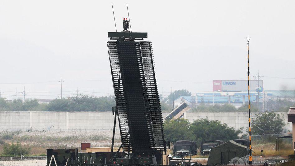 US-Langstreckenradar in der Nähe von Seoul