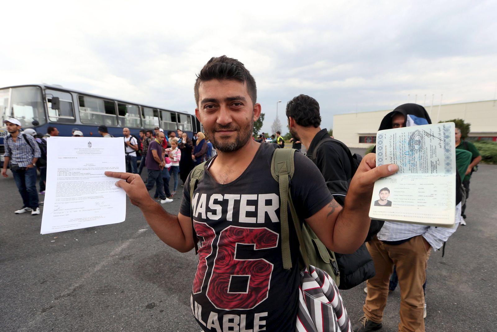 Flüchtling / syrischer Pass