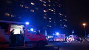 Schwerer Autounfall nach Verfolgungsjagd auf dem Kurfürstendamm