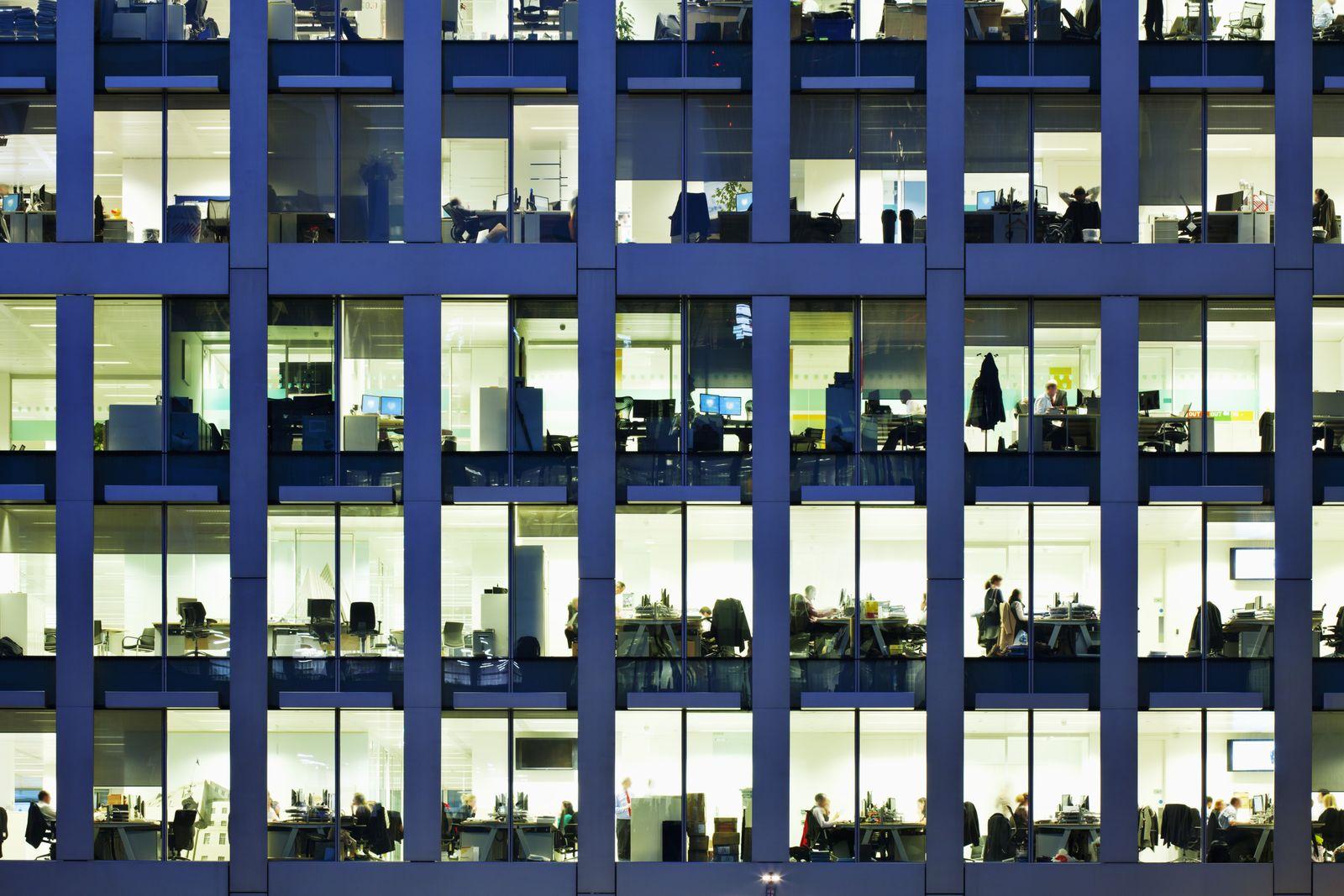 NICHT MEHR VERWENDEN! - Büro / Fenster / Bürofenster / Gebäude