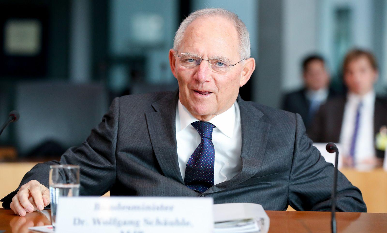 Schäuble / Untersuchungsausschuss