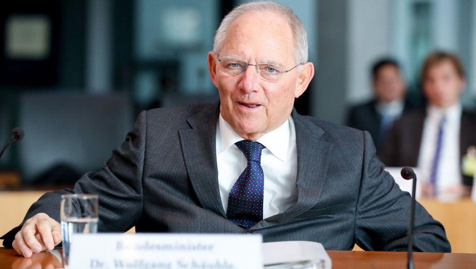 Wolfgang Schäuble im Cum-Ex-Ausschuss