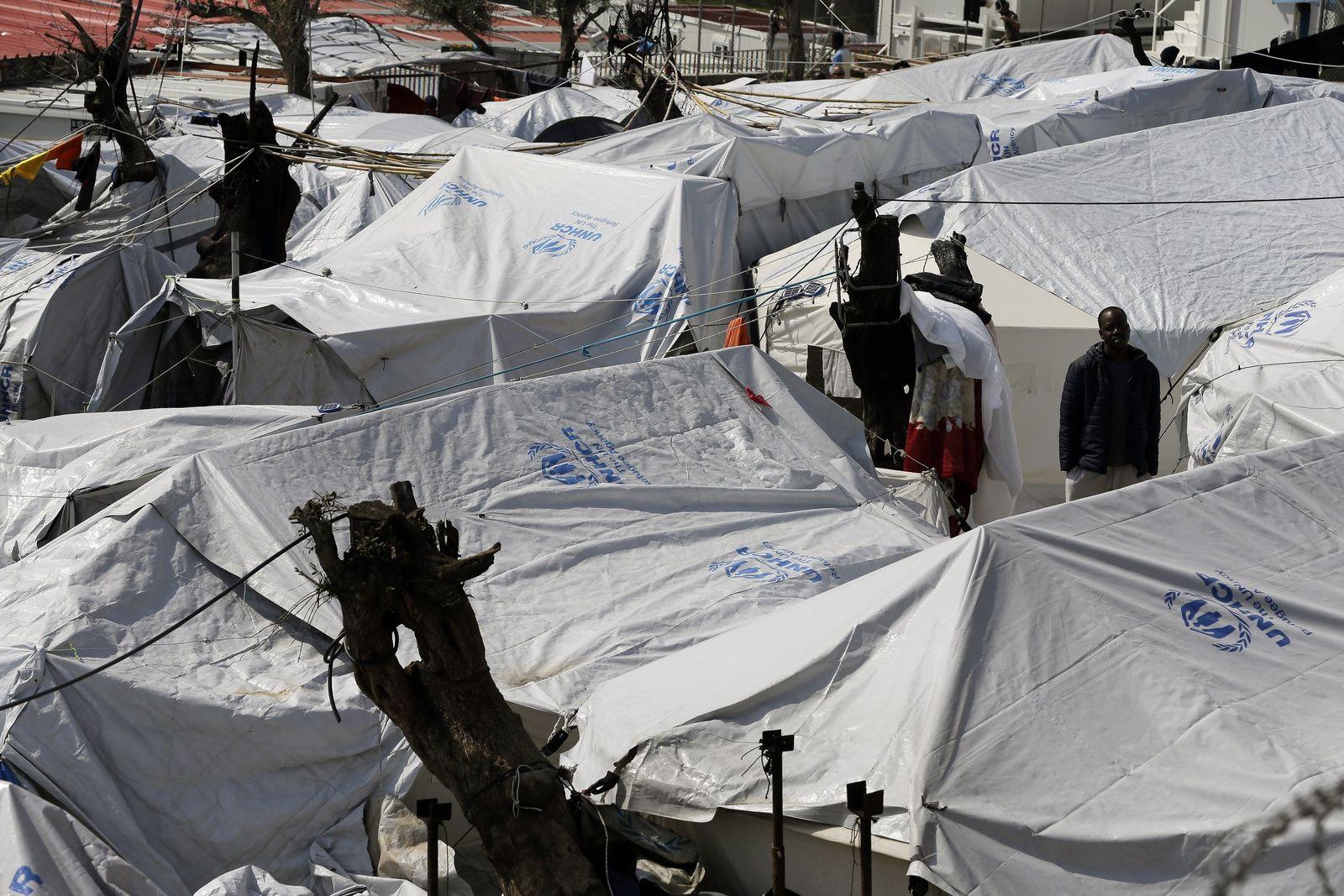 Griechenland / Afrikanische Flüchtlinge