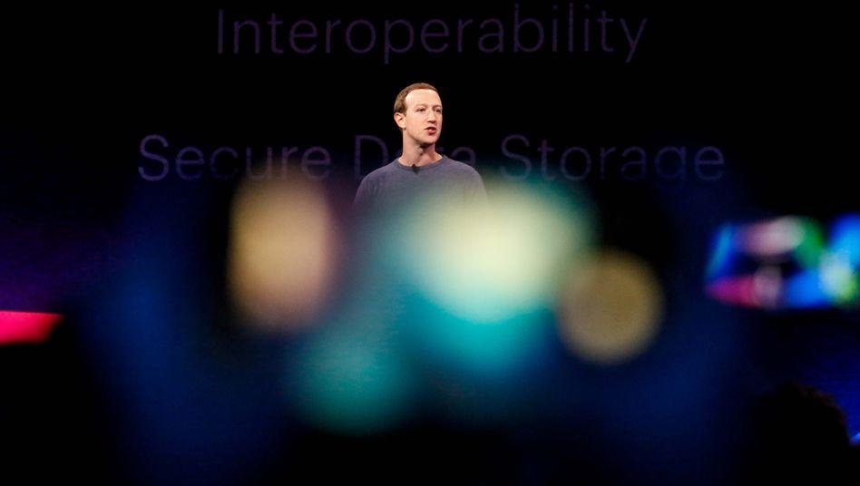 Facebook-Chef Mark Zuckerberg: Partner wenden sich ab