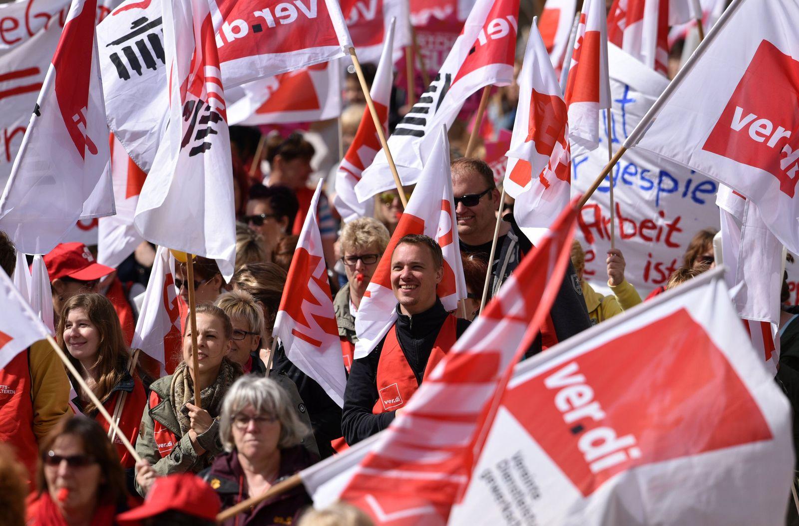 Streiks in Kindergärten - Brandenburg