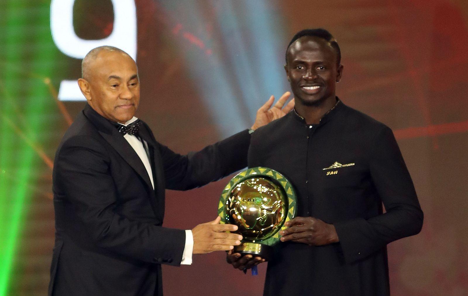 Confederation of African Football Awards, Hurghada, Egypt - 07 Jan 2020